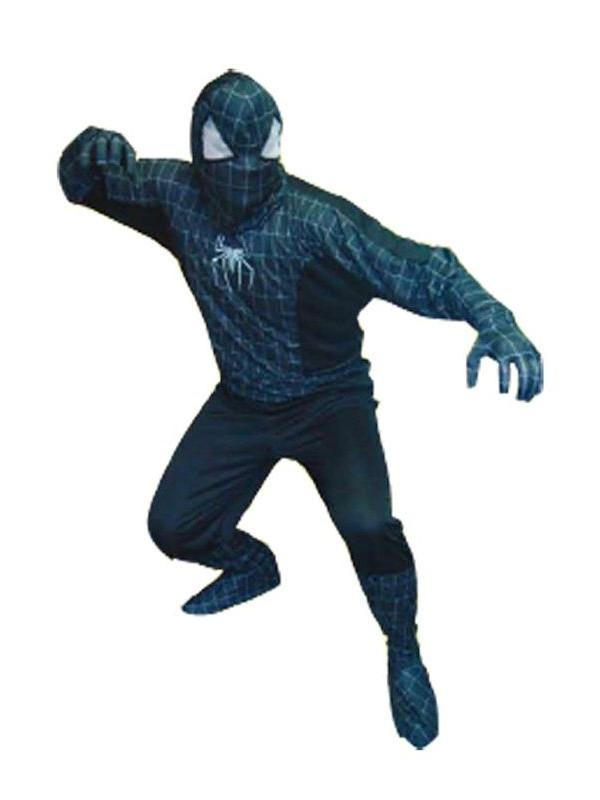 Disfraz Spiderman negro adulto