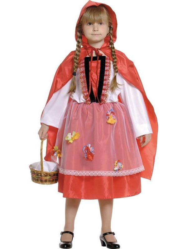Disfraz Caperucita del bosque infantil