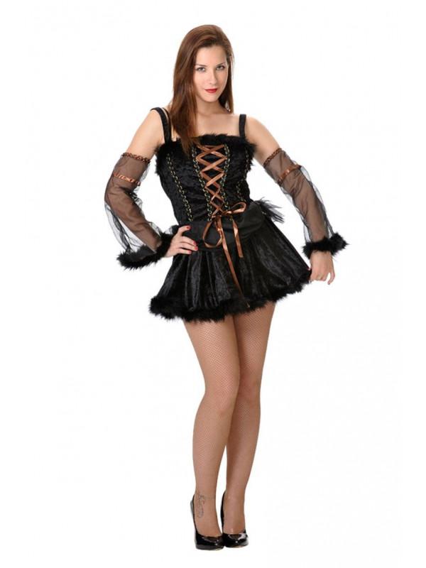Disfraz de bruja pícara mujer