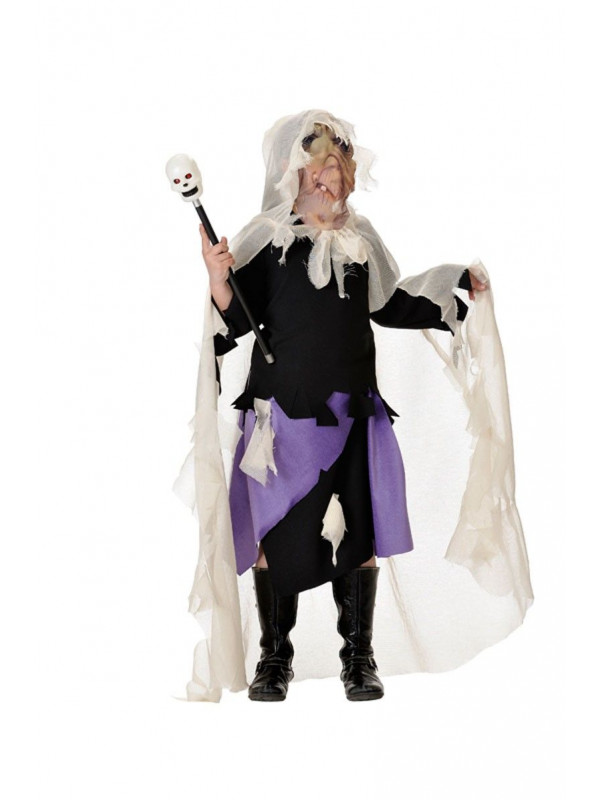 Disfraz hechicera halloween infantil