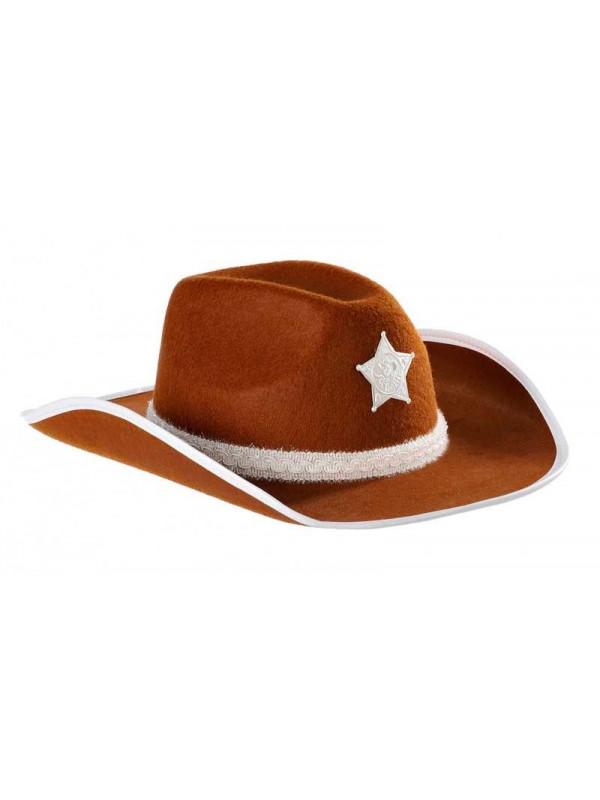 Sombrero vaquero fieltro niño