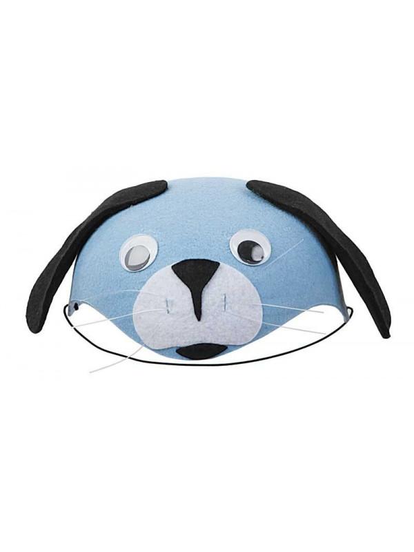 Casquete de perrito azul