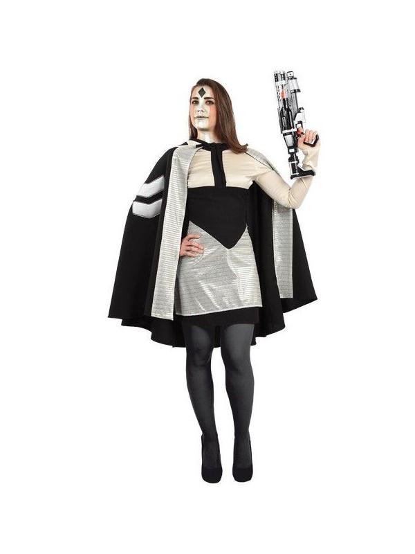 Disfraz de galáctica mujer