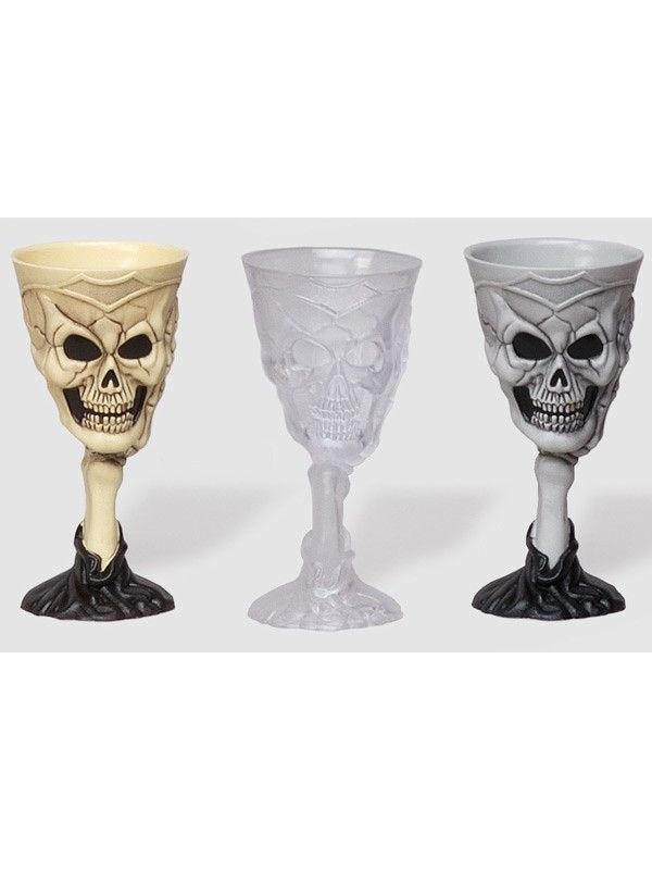 Copa Halloween esqueleto
