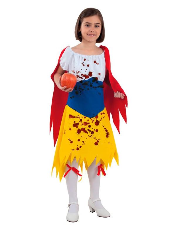 Disfraz Blancanieves Halloween niña