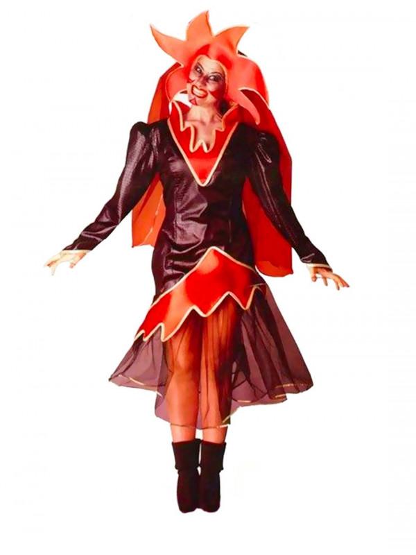 Disfraz de mujer diablo