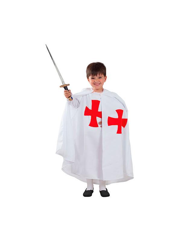 Disfraz templario medieval bebé