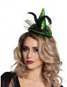 Mini sombrero bruja telaraña