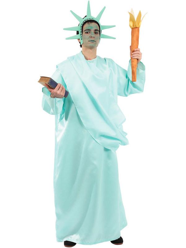 Disfraz de Estatua de la Libertad