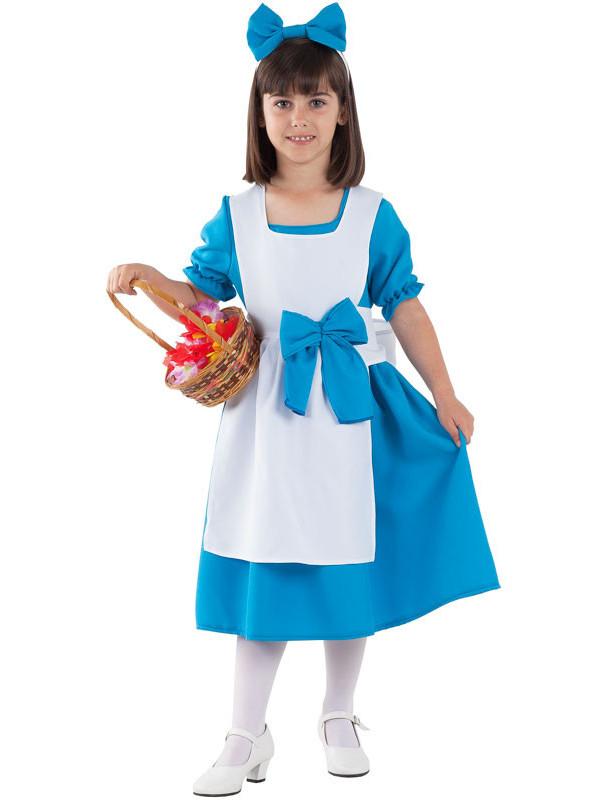 Disfraz Alicia en el País de las Maravillas niña