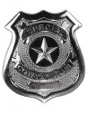 Placa metal policia