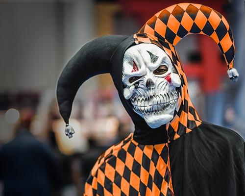 Masken Halloween