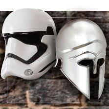 Kostüm-Helme